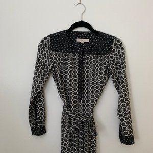 Loft Button-down Shirtdress